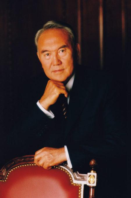 Nursultan Nazarbajev - prezident Kazachstánu